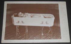 CHILD-POST-MORTEM-CABINET-CARD-PHOTO-Crisp-image-ANGELIC-HEAVEN-BOUND-girl