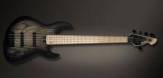 "Meridian Jazz Evolution Carbon 5 - Body: Ash Neck: Maple (1986) Fretboard: Maple (1986) 21 frets 16"" radius Pickups: Delano Bridge: Hipshot Tuners: Hipshot Ultralite Preamp: Meridian Trinity; Vol, Vol, Hi, Mid, Low, active/passive switch Meridian Ebony/brass strings retainer, body thickness: 38mm Fret zero and Carbon fiber nut Weight: 3,8 Kg"