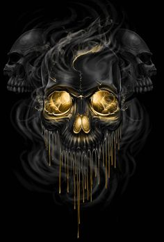 Skull Melt by ESIC