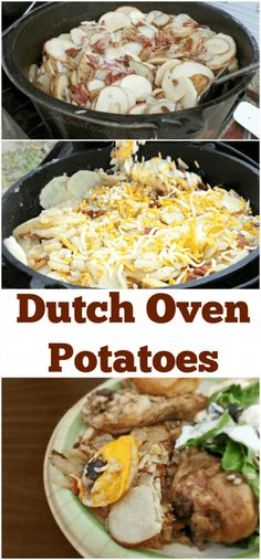 One of the staples of our family camp is the last night having a large family dinner of Dutch Oven Potatoes and Dutch Oven Chicken. It just wouldn't be camping without it! Of all Dutch Oven food, my family's recipe for Dutch Oven potatoes is my absolute favorite, so this year I paid close attention...Read More