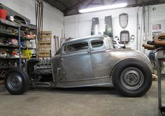 Projects - The Wade Model A Coupe: Build Thread & Photo Journal Classic Hot Rod, Classic Cars, Rat Rod Cars, Hot Rod Pickup, Traditional Hot Rod, Garage Remodel, Vintage Race Car, Us Cars, Car Shop