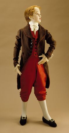 Late 18th century British Boy's suit at the Los Angeles County Museum of Art, Los Angeles