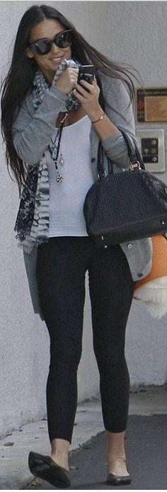 Who made Demi Moore's black studded handbag?