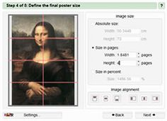 Make posters from photos or images