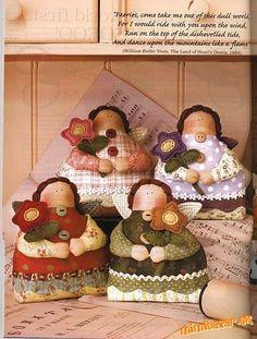 Tilda's Flowergirl - pattern