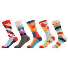 Sanzetti Men's Dress Socks - 5 Pair Set