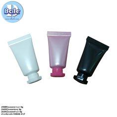 หลอดครีม 5 กรัม สวยๆ ขนาดเล็ก เทสเตอร์ ราคาถูก สนใจติดต่อสอบถามได้เลยจา Cosmetic Packaging, Cosmetics, Cream, Creme Caramel, Beauty Products, Sour Cream, Lotion, Drugstore Makeup