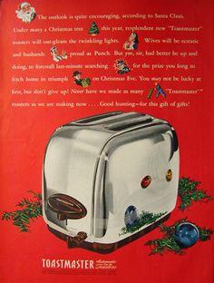 1946 Toastmaster Vintage Toaster Ad