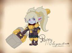 Poppy: la guardiana del martillo by lucianogiordano