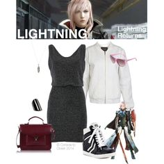 """Lightning (Lightning Returns)"" by console-to-closet on Polyvore"