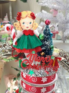 Log in to your Etsy account. Christmas Craft Projects, Christmas Crafts, Christmas Decorations, Paper Doll Craft, Doll Crafts, Pipe Cleaner Crafts, Pipe Cleaners, Vintage Christmas, Christmas Diy