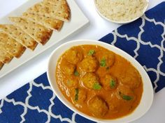 Malai Kofta Curry with Turkey Meatballs