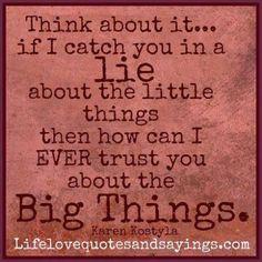 Those little white lies. | newworldmom