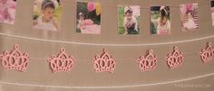 Banners + Garland from a Pink & Gold Princess Party via Kara's Party Ideas | KarasPartyIdeas.com | The Place for All Things Party! (6)