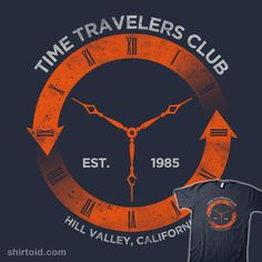 Time Travelers Club #BacktotheFuture