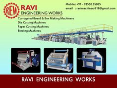 Corrugated Board and Box Making Machinery Manufacturers & Exporters India Amritsar . http://corrugationplant.com/our-products-list.php . #Platen_Die_Cutting_Punching_Machine_india_amritsar #corrugation_plants_machinery #paper_corrugated_box_making_machine #rotary_die_cutting_machine