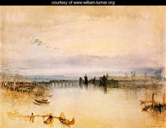 Sketch of the town center of Konstanz - Joseph Mallord William Turner - www.william-turner.org