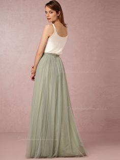 Shop Popular A-line Bateau Green Natural Backless Bridesmaid Dresses for £79 with Free Shipping - Simplebridesmaiddresses.co.uk