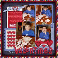 Class Valentines - Scrapbook.com