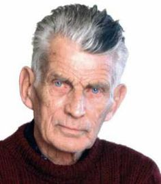 Samuel Beckett - I'll buy his goods, hook, line and sinker, because he leaves no stone unturned and no maggot lonely. He brings forth a body of beauty. His work is beautiful. - Harold Pinter