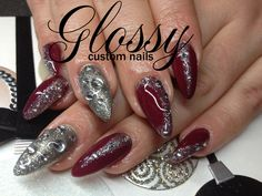 Most of them are Gel and Acrylic artificial nails but you might catch a few natural ones. Some Designs are hand painted and others are. Artificial Nails, Chanel Ballet Flats, Bling, Hand Painted, Gallery, Jewel, Chanel Ballerina, Chanel Ballerina Flats