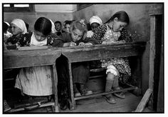 A village school, Olimbos, Karpathos, © Constantine Manos/Magnum Photos Magnum Photos, Vintage Photographs, Vintage Photos, Foto Vintage, Vintage Postcards, Fotojournalismus, Benaki Museum, Vintage Children Photos, Old Photography