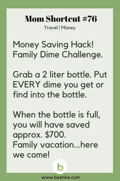 Travel And Money Saving Hacks For The Whole Family! – Beenke Travel and Money Shortcuts: Saving money tips. Get your daily source of awesome life hacks and parenting tips! CLICK NOW to discover more Mom Hacks.