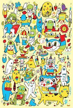 You Byun #design #illustration #colorful