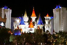Excalibur Hotel & Casino in Las Vegas - My favorite hotel growing up. My family would always stay there, and I'd get to run around the Fantasy Faire the whole time. It's still one of my favorite places to stay, though I haven't been there in a while.