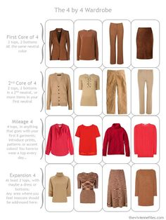 Build a Capsule Wardrobe by Starting with Nature: A Cardinal, in Warm Colors | The Vivienne Files