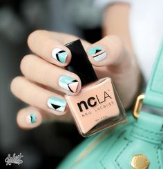 Nail art inspiration  Marc by Marc Jacobs