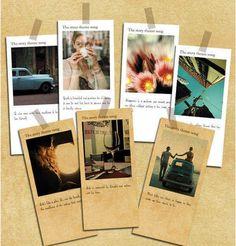 Kraft Message Cards