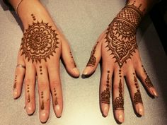 Eid Henna #henna #mehndi #hennaart #eid #mandala