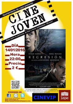 Cine Joven para el jueves, 14 de enero a las 22h en Cinevip Lepe #LepeJuventud
