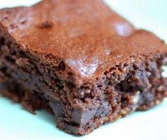 Simpele suikervrije brownies met walnoten