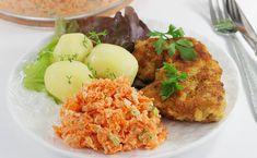 Halloumi, Coleslaw, Tandoori Chicken, Carrots, Grains, Salads, Rice, Cooking, Ethnic Recipes