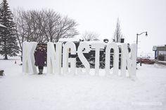 Enjoy a winter weekend in Kingston, Ontario, Canada Kingston Canada, Kingston Ontario, Fire And Ice Festival, Winter Weekend Getaways, Best Winter Destinations, Mountain Village, Blue Mountain, Winter Activities, Waterfall