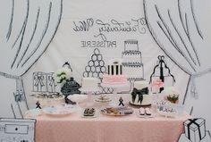Fabulous Wedding Idea: A Parisian Inspired Sweets Display