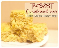 Kimber's Favorite Cornbread...good cornbread recipe with kernels! Make with fried chicken, chile or Mom's BBQ ribs