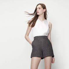SALE Cotton Linen shorts (36 or 38)