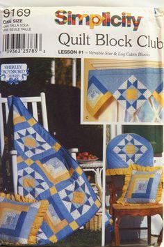 Simplicity 9169 Quilt Block Club