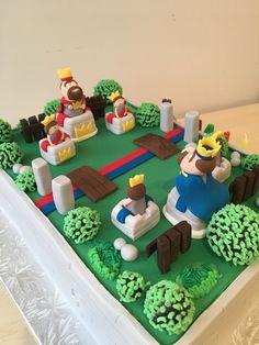 Clash Royale cake 'Training ground'