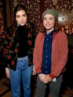 Ellen Page & Angela Trimbur at 'The OA' premiere after party in LA, 15 December 2016 (HQ)