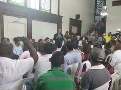 Gran encuentro en la casa politica con la Juventud y el candidato Lic. Luis Abinader