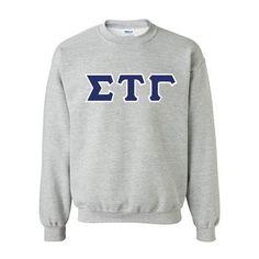 Custom Greek clothing and apparel. Something Greek Clothing USA. Alpha Kappa Lambda, Alpha Tau Omega, Alpha Fraternity, Tau Gamma, Delta Chi, Theta Xi, Sweat Shirt, Crew Neck Sweatshirt, Pullover