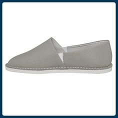 Leder Espadrilles SHW1170133 Farbe: grey, Größe: 40 - Espadrilles für frauen (*Partner-Link)