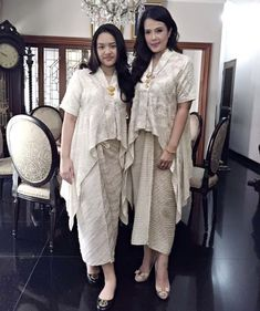 Kebaya Lace, Kebaya Dress, Batik Kebaya, Batik Dress, Lace Dress, Modern Bridesmaid Dresses, Bridesmaid Dress Colors, Bridesmaid Ideas, Wedding Dresses