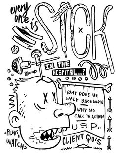 Art director doodle
