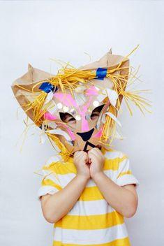 Playful Lion Mask for #Halloween