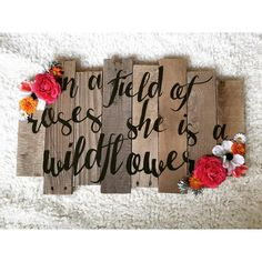 In a field of roses she is a wildflower lovin' these new flowers from @afloral…